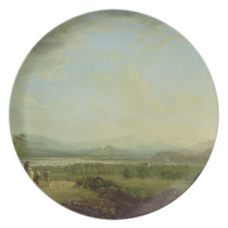 A View of the Town of Stirling on the River Forth Melamine Plate
