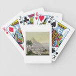 A view of the township of Lima, Peru, from 'Le Cos Bicycle Playing Cards