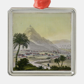 A view of the township of Lima, Peru, from 'Le Cos Metal Ornament