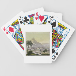 A view of the township of Lima, Peru, from 'Le Cos Deck Of Cards