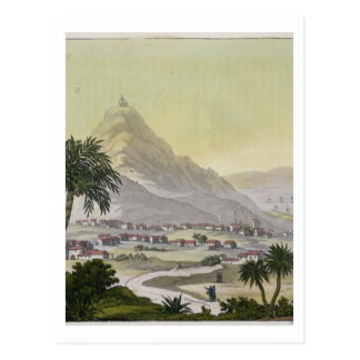 A view of the township of Lima, Peru, from 'Le Cos Postcard