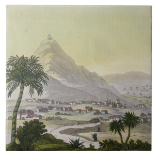 A view of the township of Lima, Peru, from 'Le Cos Tile