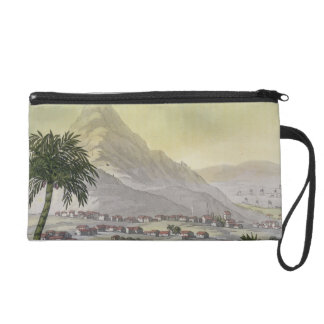A view of the township of Lima, Peru, from 'Le Cos Wristlet Purse