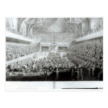 A View of The Trial of Warren Hastings Post Cards