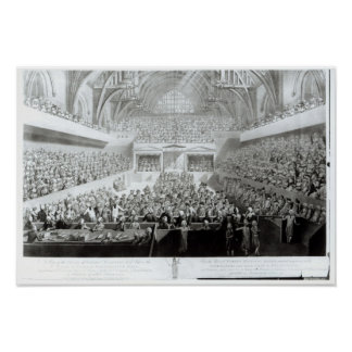 A View of The Trial of Warren Hastings Poster