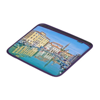 A view of the Venetian port city of Piran MacBook Sleeve