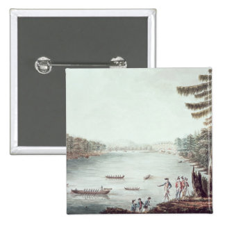 A View of Ticonderoga from a point Pinback Button