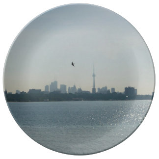 A view of Toronto Porcelain Plate