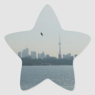 A view of Toronto Star Stickers