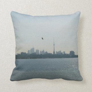 A view of Toronto Throw Pillow