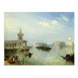 A View of Venice Postcard
