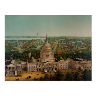 A View Of Washington DC Postcard