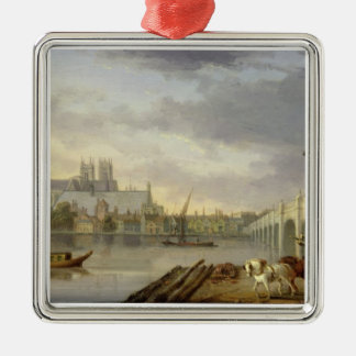 A View of Westminster Bridge and the Abbey from th Ornament