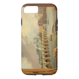 A View of Westminster Bridge (oil on panel) iPhone 8/7 Case