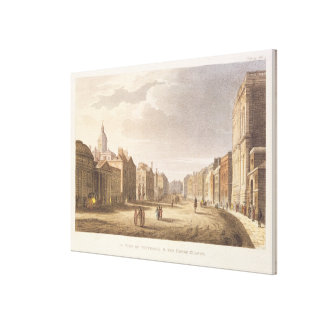 A View of Whitehall and The Horse Guards Canvas Print