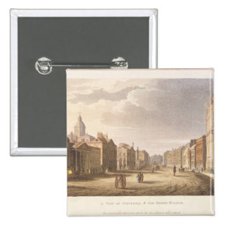 A View of Whitehall and The Horse Guards Pinback Button