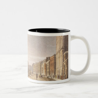 A View of Whitehall and The Horse Guards Two-Tone Coffee Mug
