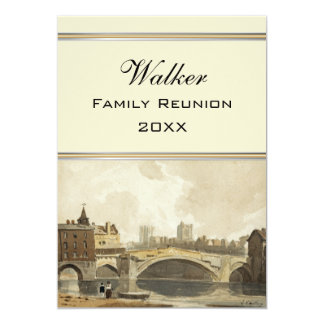 A View of York, England Family Reunion Card