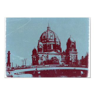 A view on the Berlin Cathedral 3.5x5 Paper Invitation Card