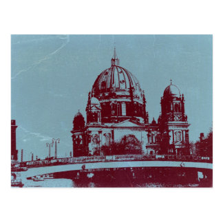 A view on the Berlin Cathedral Postcard