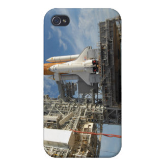 A view Space Shuttle Atlantis on Launch Pad 39A iPhone 4 Case