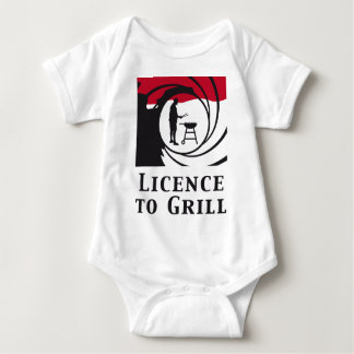A view tons of A grill Baby Bodysuit