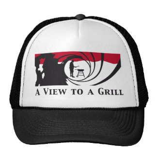 A view tons of A grill Trucker Hat