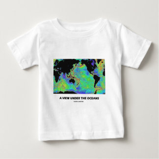 A View Under The Oceans (Geography World Map) Tee Shirt