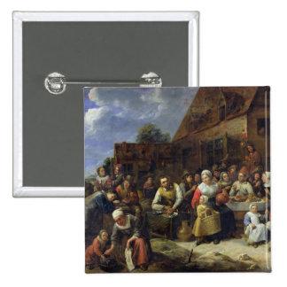 A Village Banquet Pins