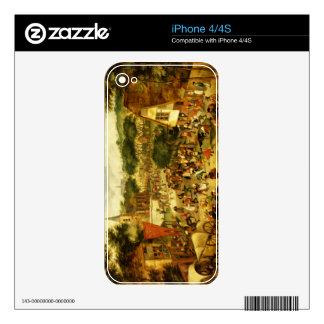 A Village Fair Skin For iPhone 4S
