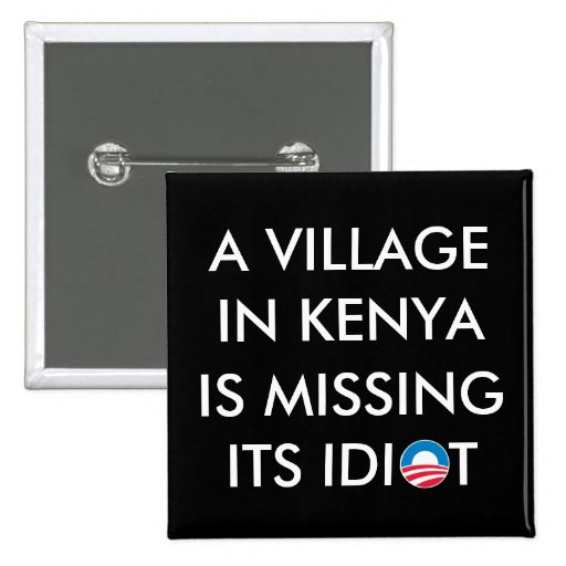 A Village in Kenya is Missing its Idiot Button
