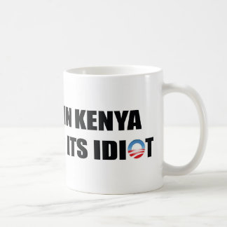 A Village in Kenya is Missing its Idiot Coffee Mug