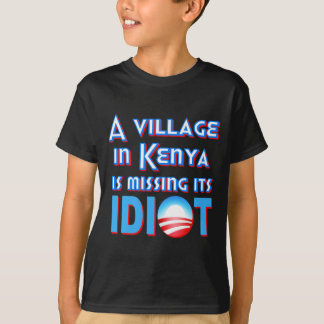 A Village in Kenya is Missing its Idiot Obama T-Shirt