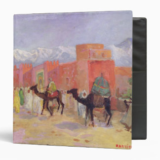 A Village in the Atlas Mountains 3 Ring Binder