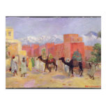 A Village in the Atlas Mountains Postcard