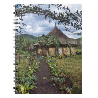A village in the Highlands, Goroka, Papua New Notebooks
