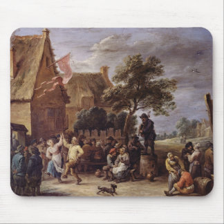 A Village Merrymaking Mouse Pad