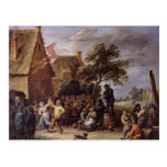 A Village Merrymaking Post Cards