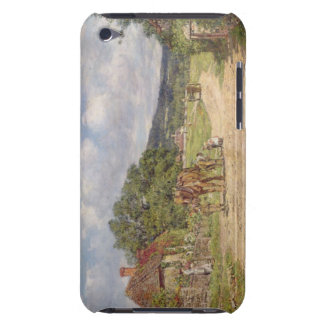 A Village Scene (oil on canvas) Case-Mate iPod Touch Case