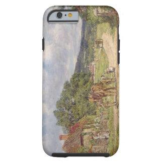 A Village Scene (oil on canvas) Tough iPhone 6 Case