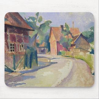 A Village Street Mouse Pads