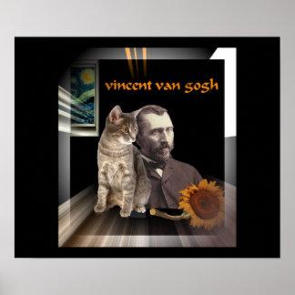 A Vincent Van Gogh Medley Poster