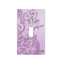 A Vintage Abstract 2 Switch Plate Cover
