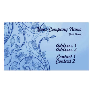 A Vintage Abstract 3 Business Card Templates