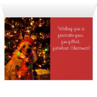 A Vintage Christmas Greeting Card