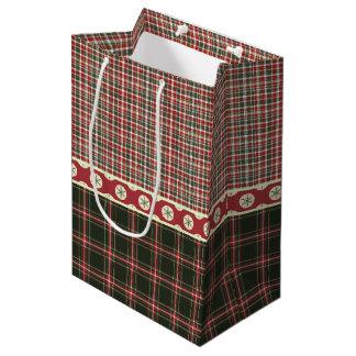 A Vintage Christmas Medium Gift Bag