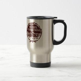 A Vintage Christmas Travel Mug