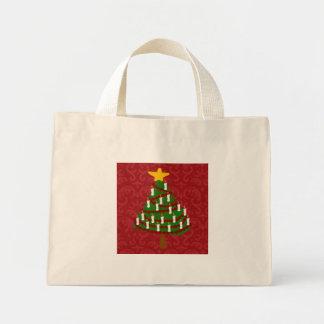 A Vintage Christmas Tree Gift Bag