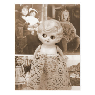 A Vintage Doll Affair Postcards