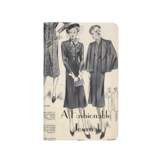 A vintage fashionable journal